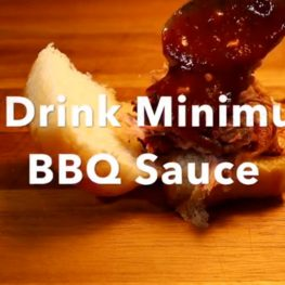 2 Drink Minimum BBQ Sauce