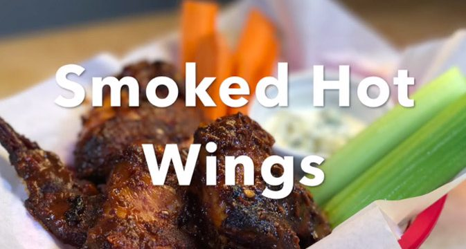 Smoked Hot Wings
