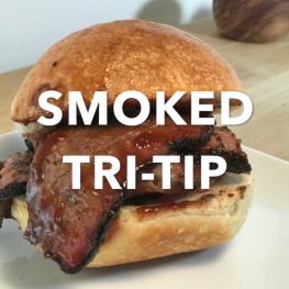 Smoked Tri-Tip