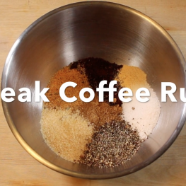 Steak Coffee Rub