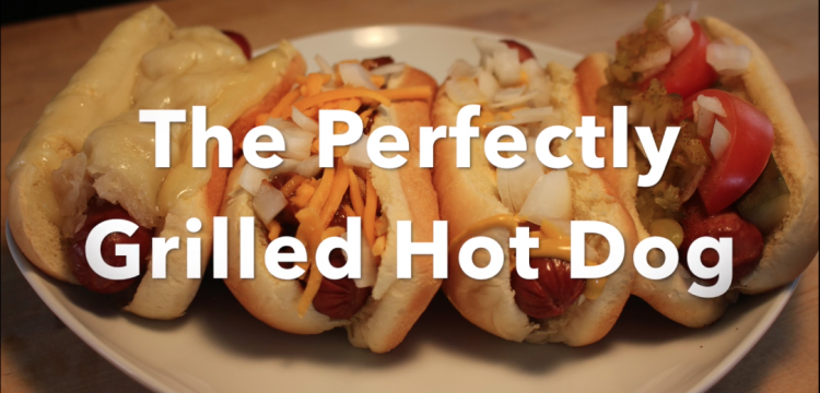 The Perfectly Grilled Hot Dog